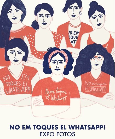 Visita l'exposició fotogràfica #Noemtoqueselwhatsapp de l'IVAJ